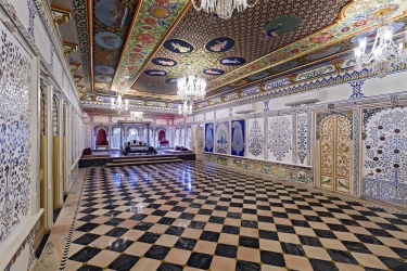 Hotel Chunda Palace: Hotel interior UDAIPUR