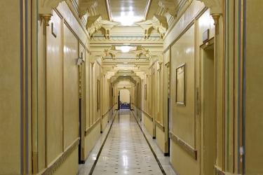 Hotel Chunda Palace: Pasillo UDAIPUR