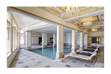 Hotel Chunda Palace: Piscina Cubierta UDAIPUR