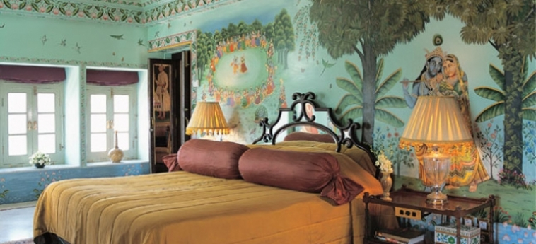 Hotel Taj Lake Palace: Chambre UDAIPUR