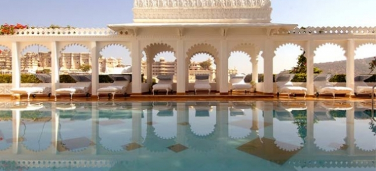 Hotel Taj Lake Palace: Swimming Pool UDAIPUR