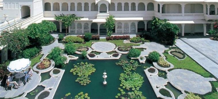Hotel Taj Lake Palace: Vue UDAIPUR