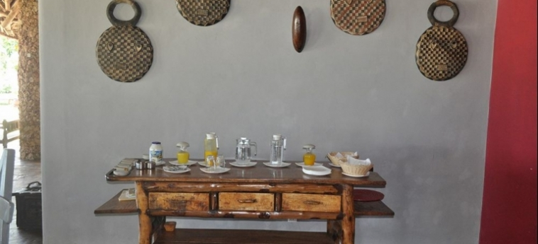 Hotel Afrika Pearl & Spa: Detail UKUNDA