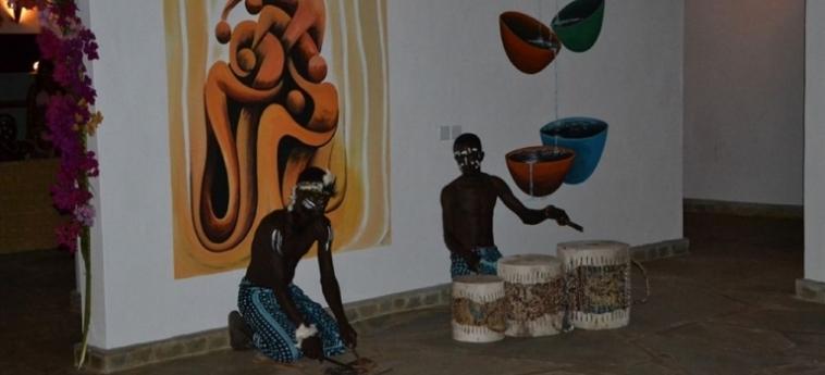 Hotel Diani Bay Resort: Cour de Recreation UKUNDA