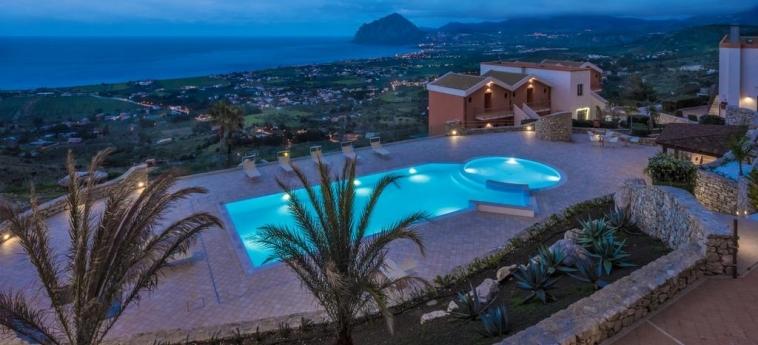 Hotel Parco Degli Aromi Resort & Spa: Aerial View VALDERICE - TRAPANI