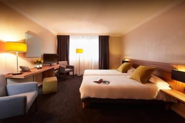 Hotel Atrium: Chambre jumeau VALENCE