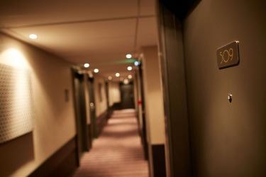 Hotel Atrium: Couloir VALENCE
