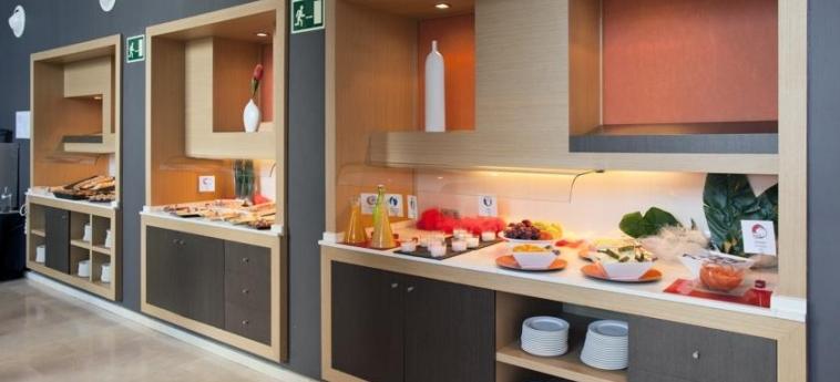 Hotel Ilunion Aqua-3: Buffet VALENCE