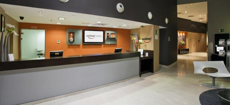 Hotel Ilunion Aqua-3: Reception VALENCE