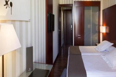 Hotel Zenit Valencia: Chambre VALENCE