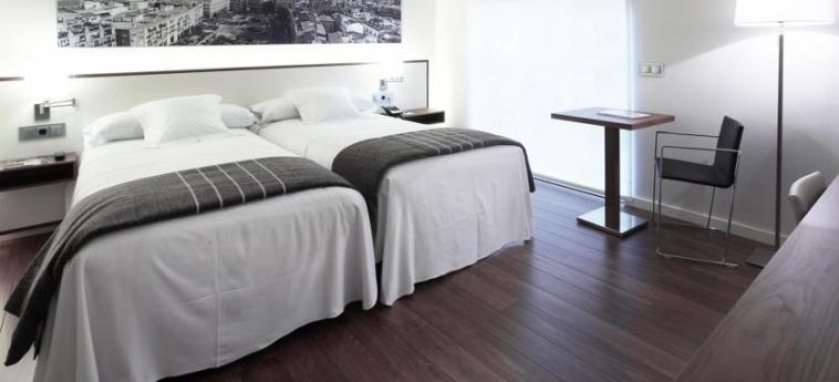 Hotel Primus Valencia: Chambre jumeau VALENCE