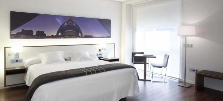 Hotel Primus Valencia: Chambre VALENCE