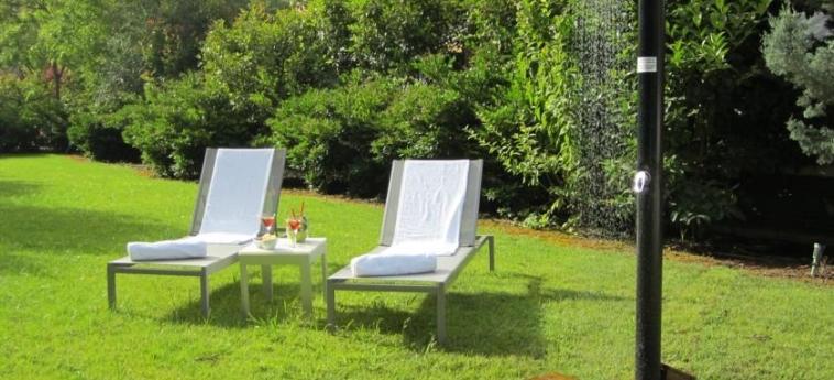 Hotel Primus Valencia: Jardin VALENCE