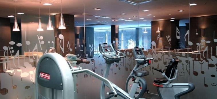 Hotel Primus Valencia: Salle de Gym VALENCE