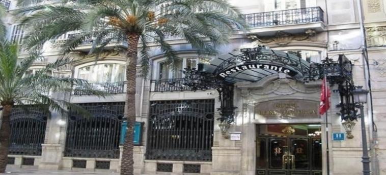 Hotel One Shot Palacio Reina Victoria 04: Exterieur VALENCE