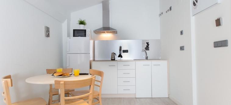 Hotel Lotelito: Küche VALENCIA
