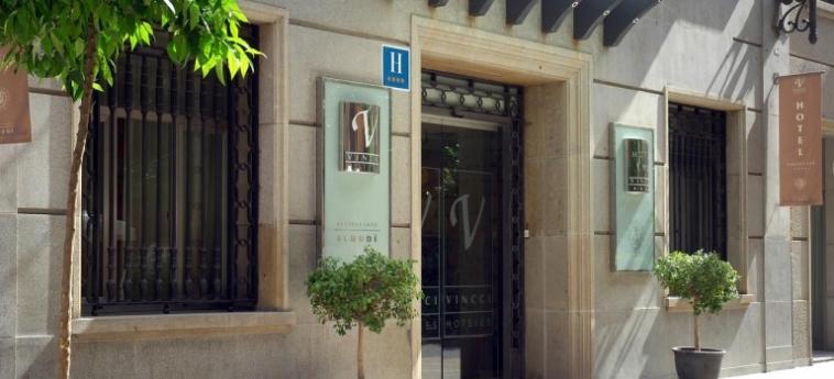 Hotel Vincci Lys: Eingang VALENCIA