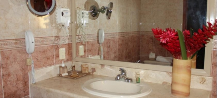 Hotel Ecotel Quinta Regia: Bathroom VALLADOLID