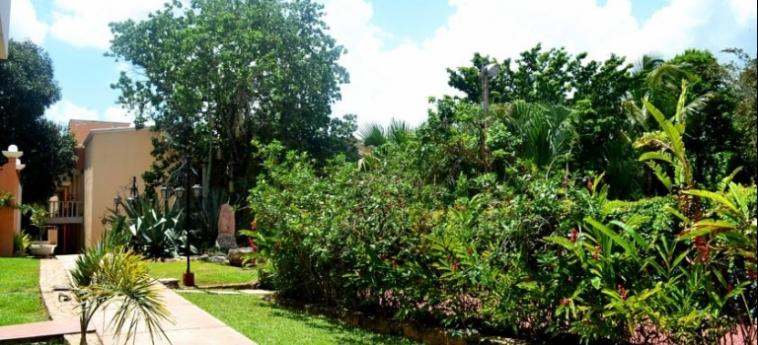 Hotel Ecotel Quinta Regia: Garden VALLADOLID