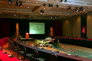 Hotel Sheraton Vancouver Wall Center: Sala de conferencias VANCOUVER