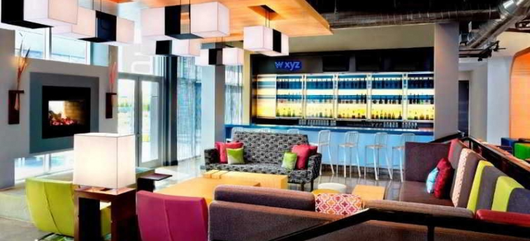Hotel Aloft Vaughan Mills: Bar VAUGHAN
