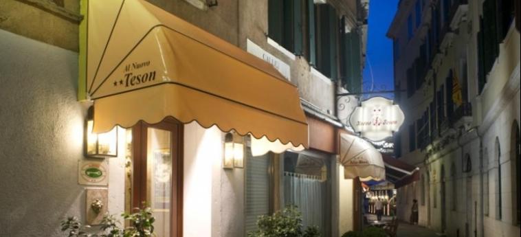 Hotel Al Nuovo Teson: Facade VENECIA