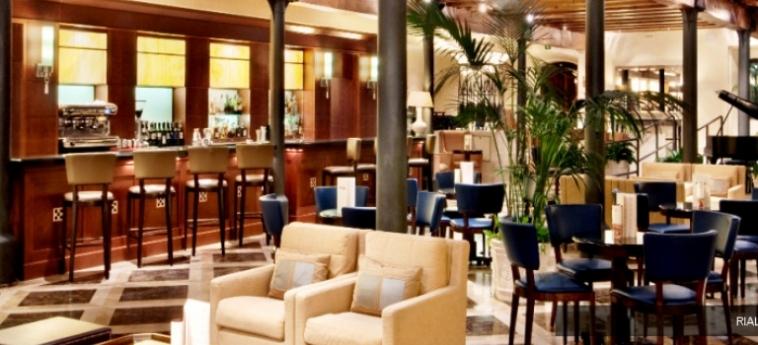 Hotel Hilton Molino Stucky: Bar Interno VENECIA