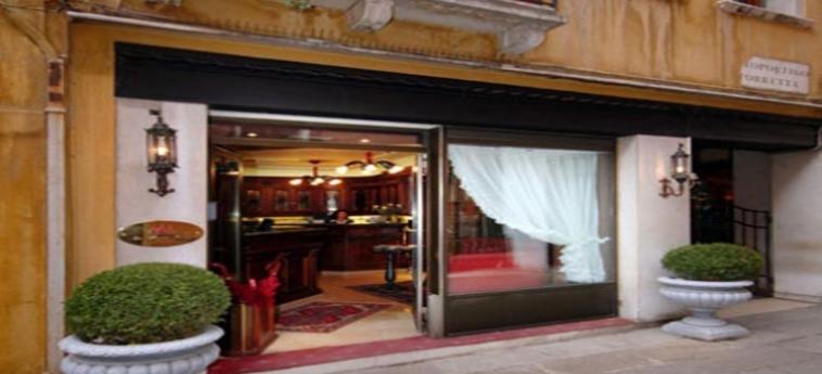 Hotel San Marco Palace: Facade VENECIA