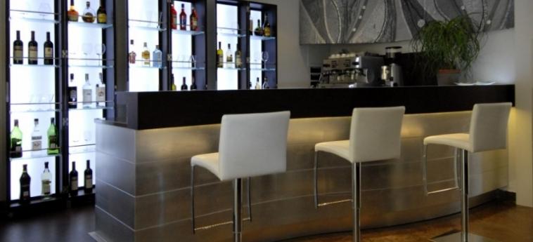 Hotel Villa Pannonia: Innen Bar VENEDIG