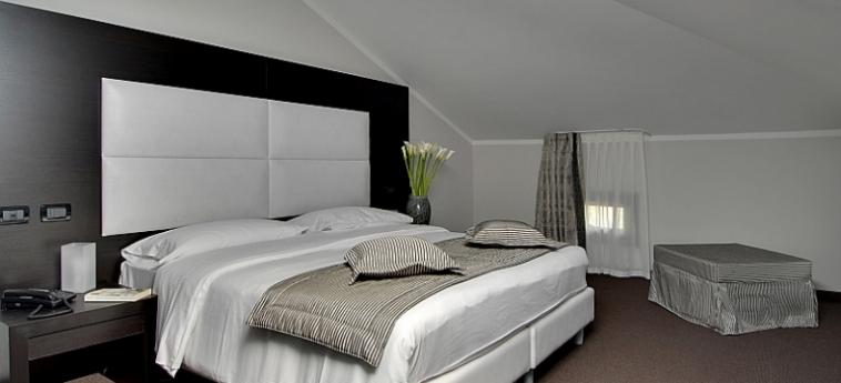 Hotel Villa Pannonia: Schlafzimmer VENEDIG