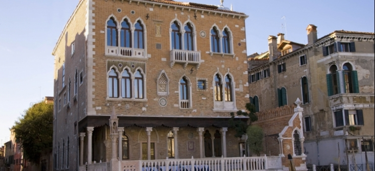 Hotel Palazzo Stern: Fassade VENEDIG