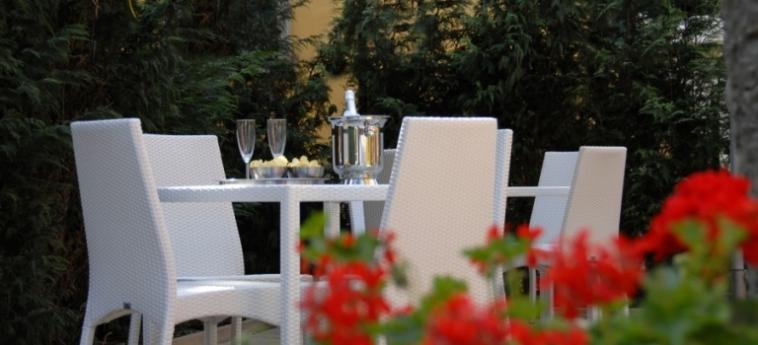 Hotel Villa Pannonia: Affresco VENEZIA