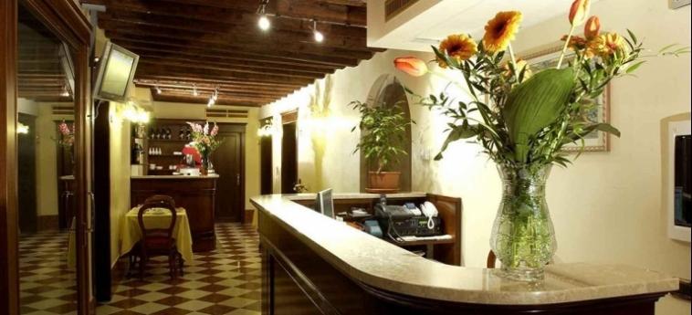 Hotel Al Ponte Mocenigo: Reception VENEZIA