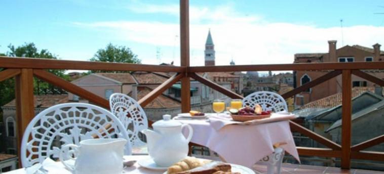 Hotel Palazzo Priuli: Terrazza VENEZIA