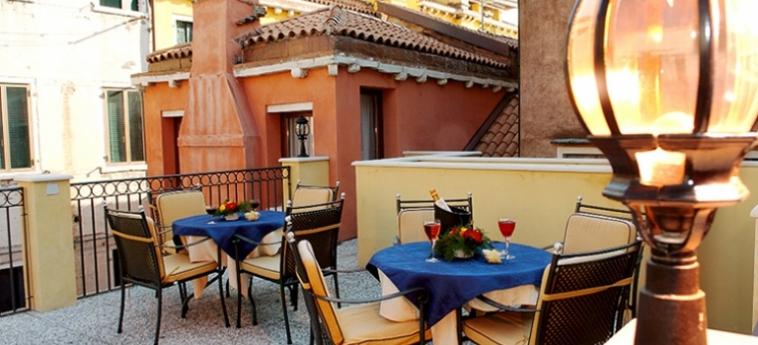Hotel Ca' Formenta: Terrace VENICE