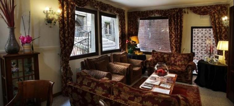 Hotel Ca' Alvise: Salotto VENICE