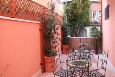Hotel Garibaldi: Terrasse VENISE - MESTRE