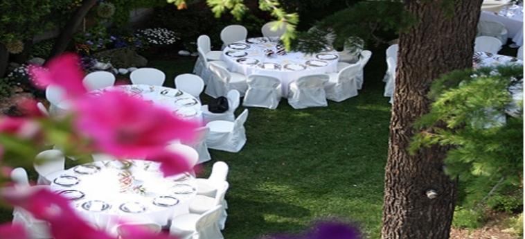 Hotel Villa Ines: Jardin VENISE