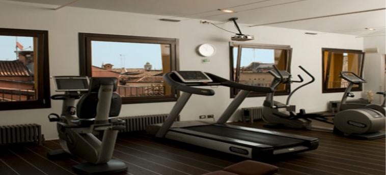 Hotel Palace Bonvecchiati: Salle de Gym VENISE