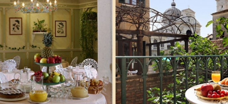 Casa Nicolo' Priuli: Petit Déjeuner VENISE