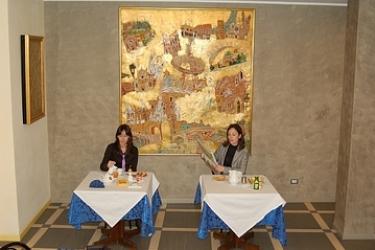 Hotel Piccolo: Sala de Desayuno VERONA