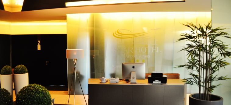 Star Hotel Airport Verona: Réception VERONE