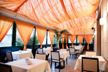 Novo Hotel Rossi: Restaurant Exterior VERONE