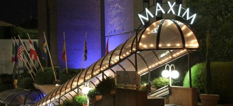 Hotel Maxim: Entrée VERONE