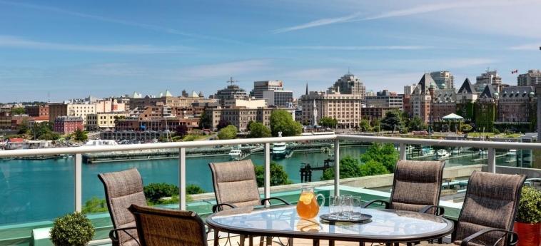 Hotel Best Western Plus Inner Harbour: Terraza VICTORIA
