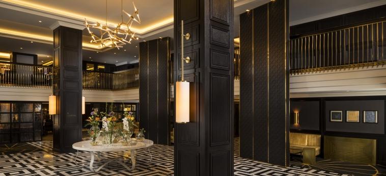 Hotel Hilton Vienna Plaza: Hall VIENNA