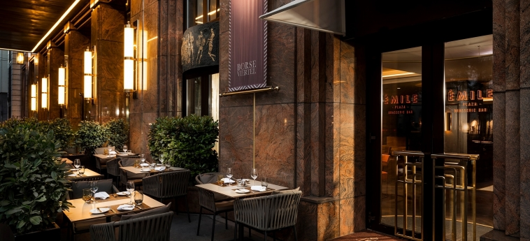 Hotel Hilton Vienna Plaza: Ristorante VIENNA