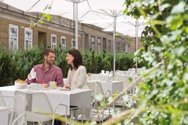 Hotel The Harmonie Vienna: Restaurant VIENNE