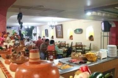 Hotel Plaza Independencia: Restaurant VILLAHERMOSA