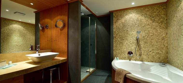 Chalet Royalp Hotel & Spa: Badezimmer VILLARS-SUR-OLLON